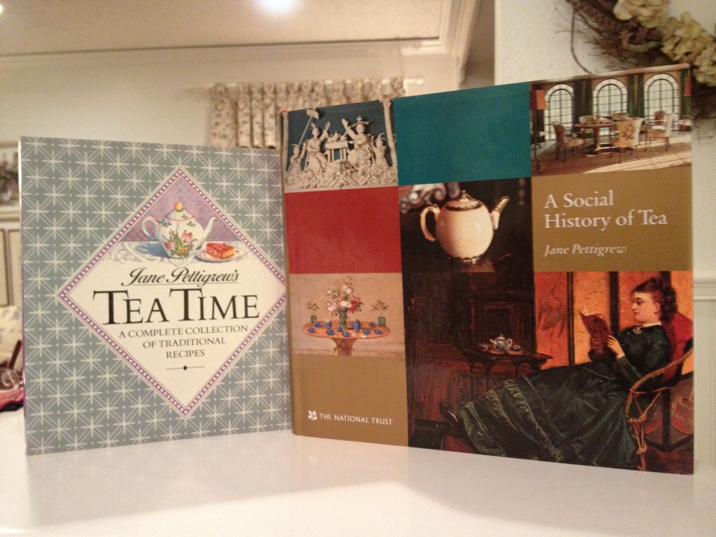 Tea Time (Out of Print) and A Social History of Tea, both by Jane Pettigrew