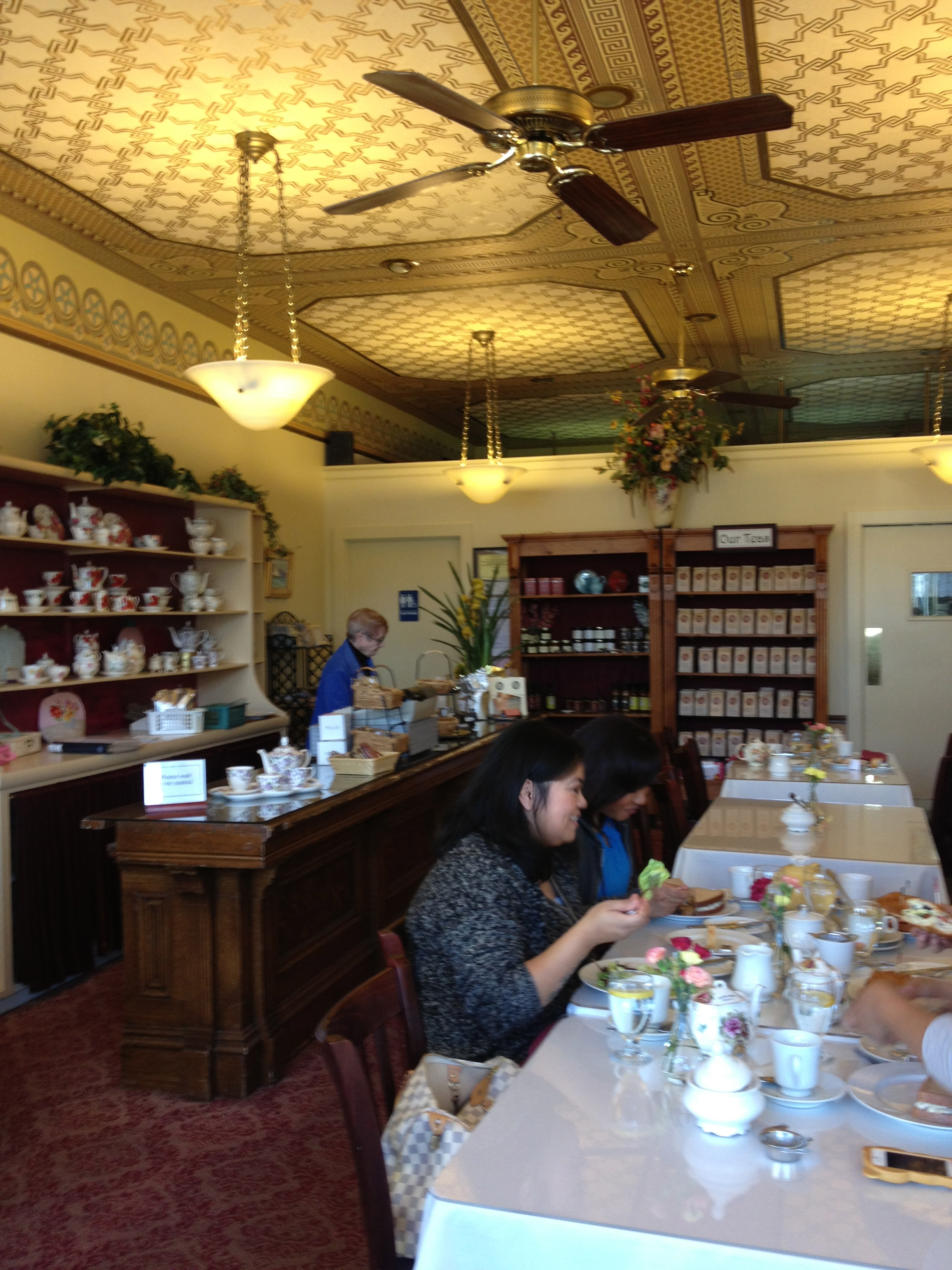 Tea Room Benicia California