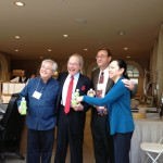 Roy Fong, James Norwood Pratt, Michael Spillane, and Rona Tison - Speakers at the Second Annual San Francisco Tea Festival