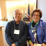 Roy Fong and yours truly  - am I happy or what?  Great Talk!