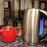 FORLIFE Stackable Red Teapot and Cuisinart Electric Water Kettle