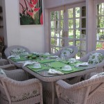 Mahseer Lodge Breakfast Room - so inviting